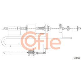 Seilzug, Kupplungsbetätigung 10.2844 CLIO 2 (BB0/1/2, CB0/1/2) 1.5 dCi Bj 2010