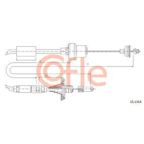 Въжен механизъм, задействане на съединителя 15.1314 25 Хечбек (RF) 2.0 iDT Г.П. 1999