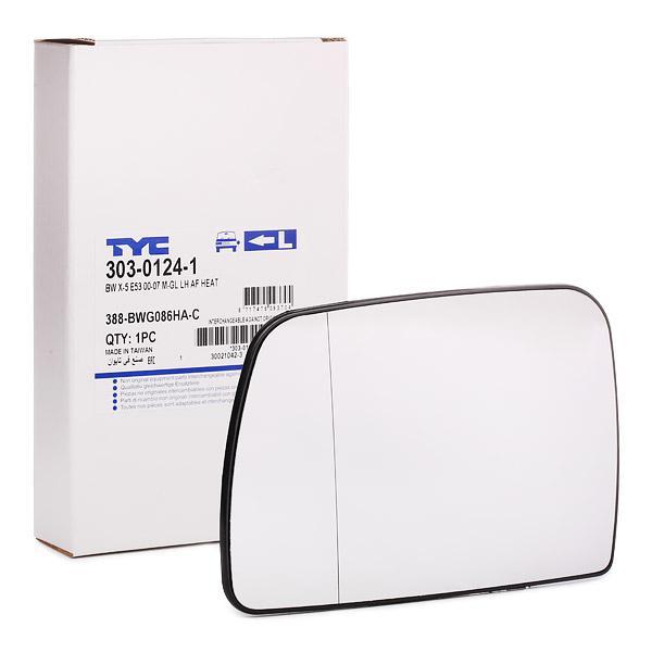 Mirror Glass 303-0124-1 TYC 303-0124-1 original quality