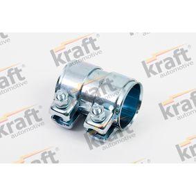 KRAFT Rohrverbinder, Abgasanlage 0570060 für AUDI A3 (8P1) 1.9 TDI ab Baujahr 05.2003, 105 PS