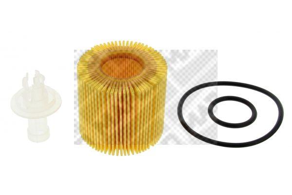 MAPCO  64507 Ölfilter Ø: 60mm, Innendurchmesser: 28mm, Höhe: 56mm
