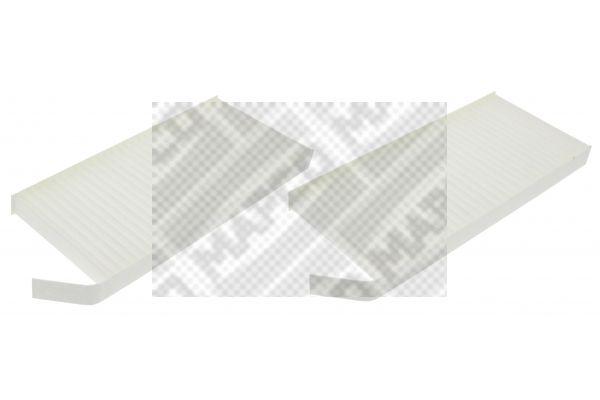 MAPCO  65861 Filter, Innenraumluft Länge: 240mm, Breite: 108mm, Höhe: 20mm