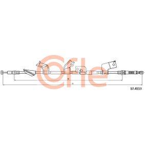 2002 Honda Civic Mk7 2.0 i Sport Cable, parking brake 17.4113