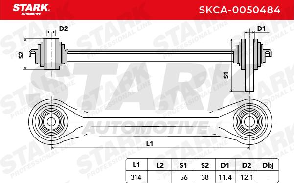 Achslenker STARK SKCA-0050484 4059191080151