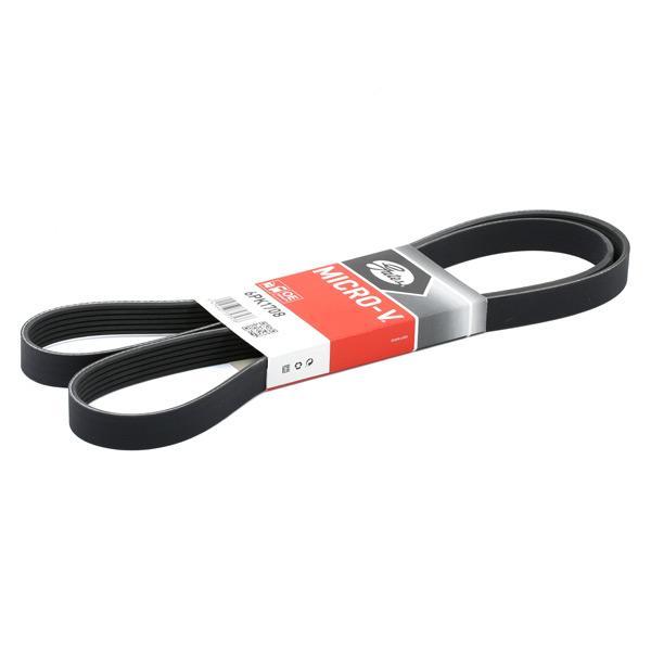 V Ribbed Belt GATES 6PK1710 expert knowledge