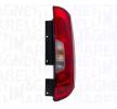 Luz trasera FIAT PUNTO (176) 1999 Año LLL281 MAGNETI MARELLI derecha, con portalámparas, P21/5W, P21W, W16W, con lámpara
