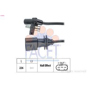 Sistema Eléctrico del Motor BMW X5 (E70) 3.0 d de Año 02.2007 235 CV: Generador de impulsos, cigüeñal (9.0759) para de FACET