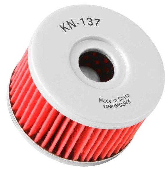 K&N Filters  KN-137 Ölfilter Ø: 60mm, Ø: 60mm, Höhe: 37mm
