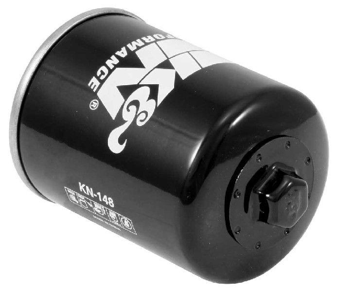 K&N Filters  KN-148 Ölfilter Ø: 68mm, Ø: 68mm, Höhe: 97mm