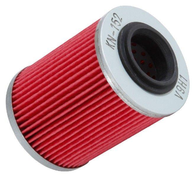 K&N Filters  KN-152 Ölfilter Ø: 56mm, Ø: 56mm, Höhe: 75mm