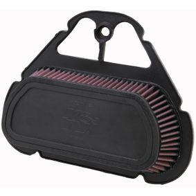 K&N Filters  YA-6001 Légszűrő Hossz: 316mm, Szélesség: 249mm, Magasság: 76mm