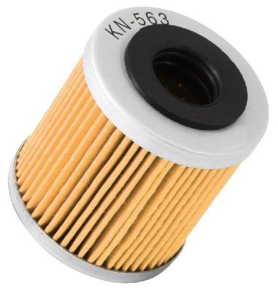 K&N Filters  KN-563 Ölfilter Ø: 45mm, Ø: 45mm, Höhe: 47mm