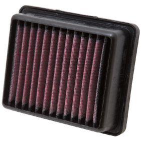 K&N Filters  KT-1211 Légszűrő Hossz: 141mm, Szélesség: 110mm, Magasság: 40mm