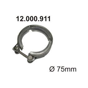 Тръбна връзка, изпускателна система 12.000.911 Golf 5 (1K1) 1.9 TDI Г.П. 2006