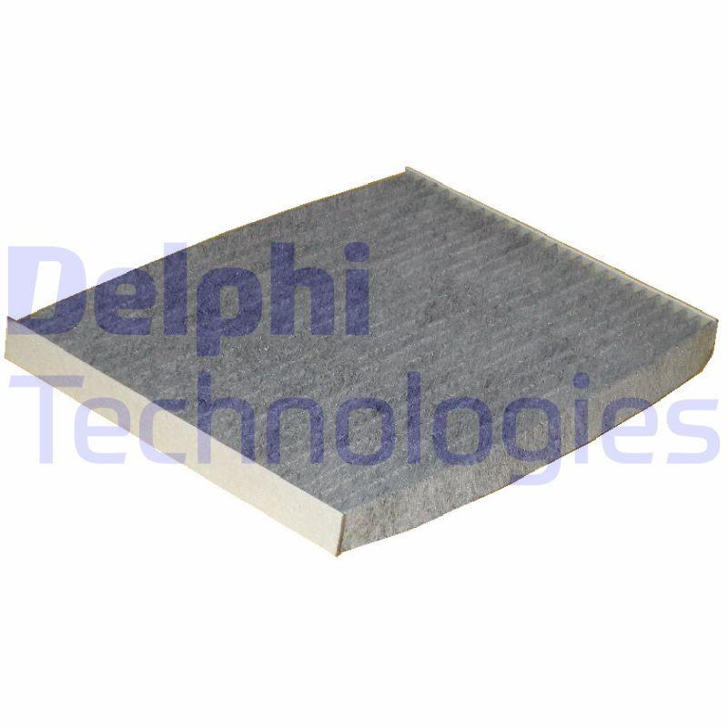 DELPHI  TSP0325227C Filter, Innenraumluft Länge: 190mm, Breite: 265mm, Höhe: 20mm