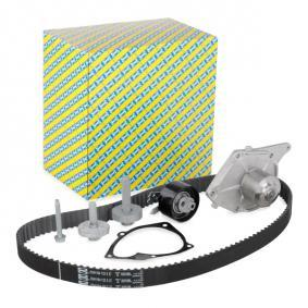 Water pump and timing belt kit KDP455.581 Note (E11, NE11) 1.5 dCi MY 2008