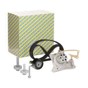 Bomba de agua + kit correa distribución con OEM número 210107477R