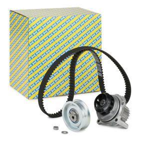 Kit cinghia distribuzione, pompa acqua KDP457.320 TOURAN (1T1, 1T2) 1.9TDI ac 2010