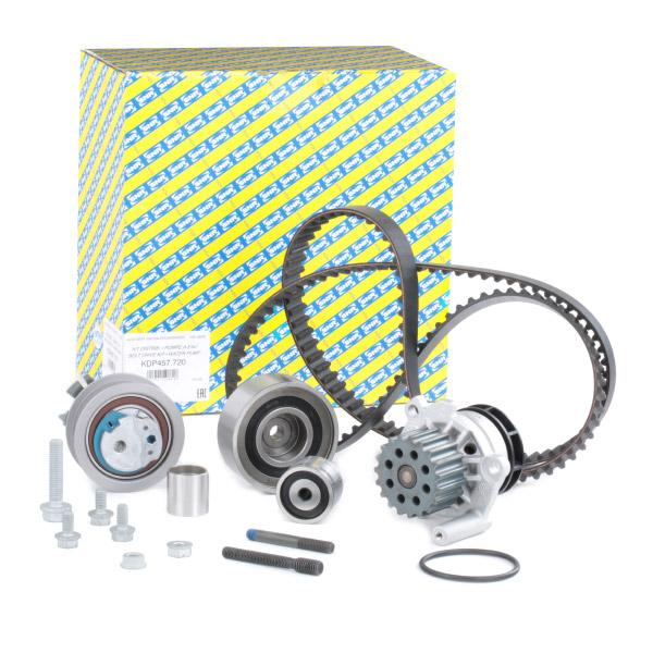 Timing belt and water pump kit SNR KDP457.720 expert knowledge