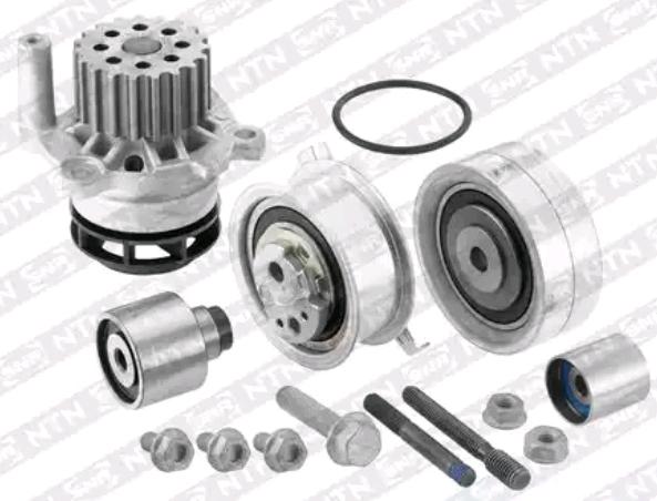 Timing belt and water pump kit SNR KDP457.720 3413521408618