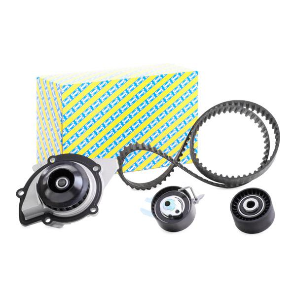 Timing belt and water pump kit SNR KDP459.570 expert knowledge