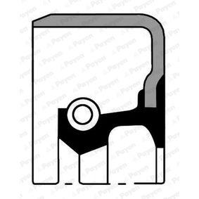 Wellendichtring, Differential Innendurchmesser: 37,00mm, Ø: 62,00mm mit OEM-Nummer MB837719