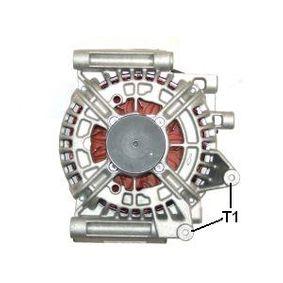 Generator Rippenanzahl: 6 mit OEM-Nummer A 013 154 59 02