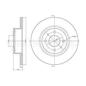 Bremsscheibe Bremsscheibendicke: 14,0mm, Lochanzahl: 4, Ø: 257,0mm mit OEM-Nummer 82 434 169