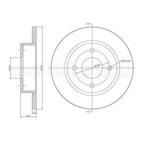 Δισκόπλακα 23-0348 MICRA 2 (K11) 1.3 i 16V Έτος 1998