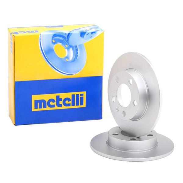 Bremsscheiben Satz METELLI 23-0366C Erfahrung