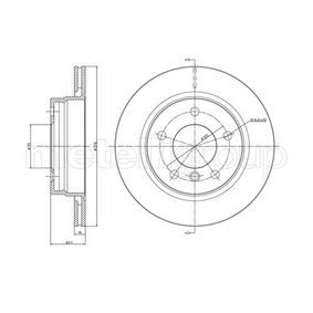 Bremsscheibe Bremsscheibendicke: 18,8mm, Lochanzahl: 5, Ø: 276,0mm mit OEM-Nummer 3421 1162 315