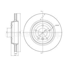 Bremsscheibe Bremsscheibendicke: 21,9mm, Lochanzahl: 5, Ø: 320,0mm mit OEM-Nummer 34 20 1 16 6073