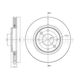 Bremsscheibe Bremsscheibendicke: 22,0mm, Lochanzahl: 4, Ø: 266,0mm mit OEM-Nummer 4249,83