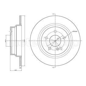 Bremsscheibe Bremsscheibendicke: 10,0mm, Lochanzahl: 5, Ø: 300,0mm mit OEM-Nummer A21 142 30 712
