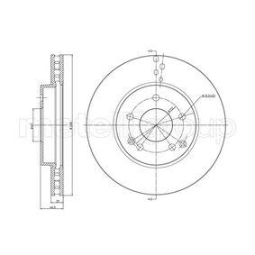Bremsscheibe Bremsscheibendicke: 25,2mm, Lochanzahl: 5, Ø: 288,0mm mit OEM-Nummer A 210 421 2412 64