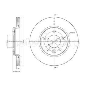 2012 T5 Transporter 2.0 TDI Brake Disc 23-0728