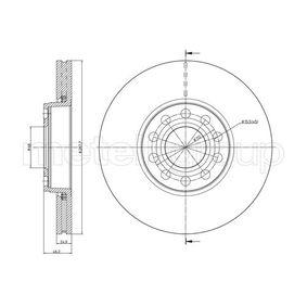 Bremsscheibe Bremsscheibendicke: 25,0mm, Lochanzahl: 5, Ø: 288,0mm mit OEM-Nummer 4B0.615.301B