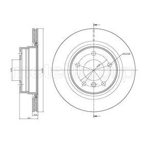 Bremsscheibe Bremsscheibendicke: 20,0mm, Lochanzahl: 5, Ø: 300,0mm mit OEM-Nummer 34216792227