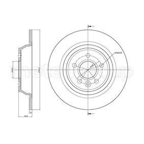 Bremsscheibe Bremsscheibendicke: 11,0mm, Lochanzahl: 5, Ø: 302,0mm mit OEM-Nummer LR-027123