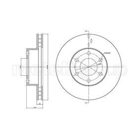 Bremsscheibe Bremsscheibendicke: 28,0mm, Lochanzahl: 6, Ø: 300,0mm mit OEM-Nummer 299 6131