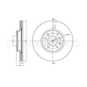 Bremsscheibe Bremsscheibendicke: 25,0mm, Lochanzahl: 5, Ø: 299,0mm mit OEM-Nummer G33Y-3325X
