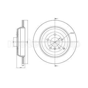 Спирачен диск дебелина на спирачния диск: 14мм, брой на дупките: 5, Ø: 330мм с ОЕМ-номер A1644231212