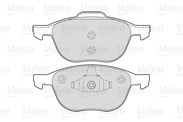 Bremsbelagsatz VALEO 301649 Bewertung