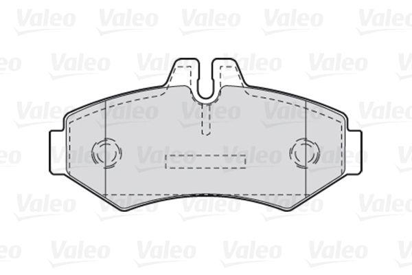 Bremsbelagsatz VALEO 301300 Bewertung