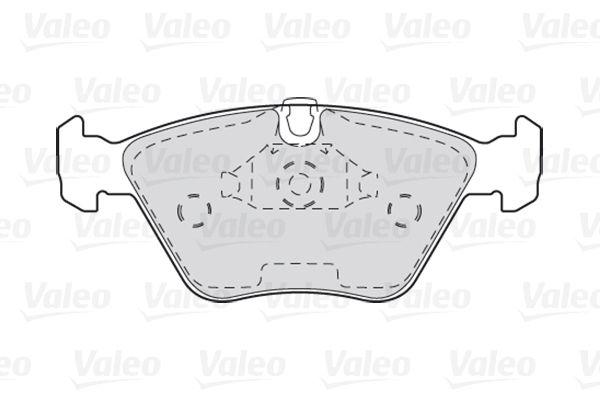 Bremsbelagsatz VALEO 301310 Bewertung