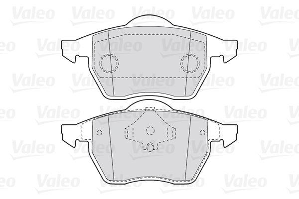 Bremsbelagsatz VALEO 301355 Bewertung