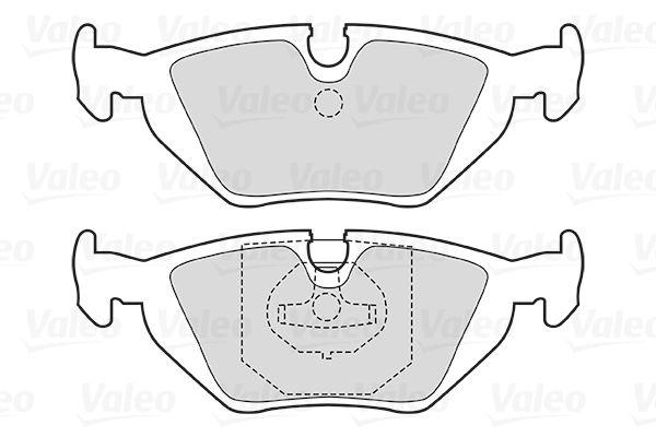 Bremsbelagsatz VALEO 301386 Bewertung