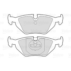 Bremsbelagsatz, Scheibenbremse Breite 1: 123,1mm, Höhe 1: 44mm, Dicke/Stärke 1: 16,5mm mit OEM-Nummer 34211162446