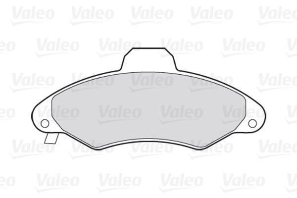 Bremsbelagsatz VALEO 301399 Bewertung
