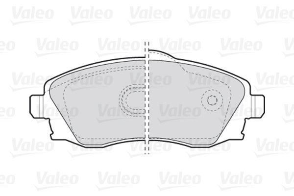 Bremsbelagsatz VALEO 301456 Bewertung